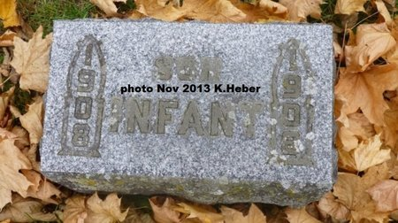 EVILSIZOR, INFANT SON - Champaign County, Ohio | INFANT SON EVILSIZOR - Ohio Gravestone Photos