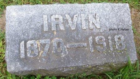 EVILSIZOR, IRVIN - Champaign County, Ohio   IRVIN EVILSIZOR - Ohio Gravestone Photos