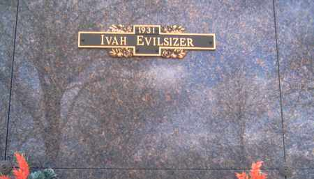 EVILSIZER, IVAH - Champaign County, Ohio | IVAH EVILSIZER - Ohio Gravestone Photos