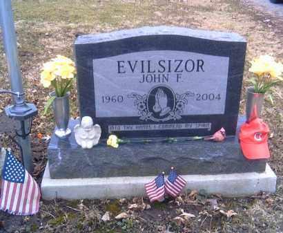 EVILSIZOR, JOHN F. - Champaign County, Ohio   JOHN F. EVILSIZOR - Ohio Gravestone Photos