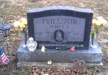 EVILSIZOR, JAMES E. - Champaign County, Ohio | JAMES E. EVILSIZOR - Ohio Gravestone Photos