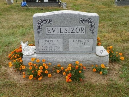 EVILSIZOR, JOSEPH ALBERT - Champaign County, Ohio   JOSEPH ALBERT EVILSIZOR - Ohio Gravestone Photos