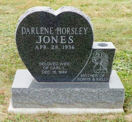 EVILSIZOR JONES, DARLENE - Champaign County, Ohio | DARLENE EVILSIZOR JONES - Ohio Gravestone Photos