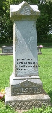 EVILSIZOR, MONUMENT - Champaign County, Ohio | MONUMENT EVILSIZOR - Ohio Gravestone Photos