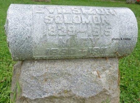 EVILSIZOR, MARY - Champaign County, Ohio | MARY EVILSIZOR - Ohio Gravestone Photos