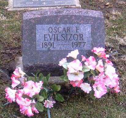 EVILSIZOR, OSCAR F. - Champaign County, Ohio | OSCAR F. EVILSIZOR - Ohio Gravestone Photos