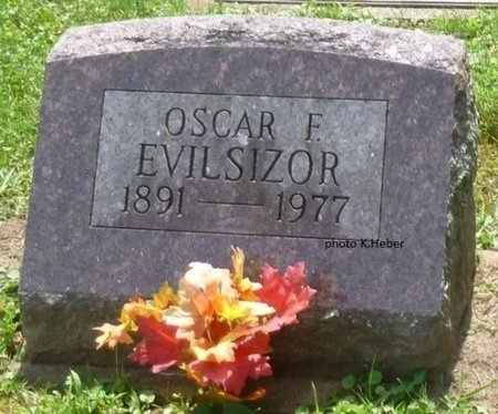 EVILSIZOR, OSCAR FREEMAN - Champaign County, Ohio   OSCAR FREEMAN EVILSIZOR - Ohio Gravestone Photos