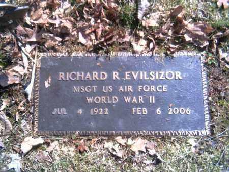 EVILSIZOR, RICHARD - Champaign County, Ohio | RICHARD EVILSIZOR - Ohio Gravestone Photos