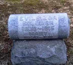 LIPPENCOTT EVILSIZOR, MARYETTA - Champaign County, Ohio | MARYETTA LIPPENCOTT EVILSIZOR - Ohio Gravestone Photos
