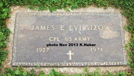 EVILSIZOR, SR, JAMES EDWARD - Champaign County, Ohio | JAMES EDWARD EVILSIZOR, SR - Ohio Gravestone Photos