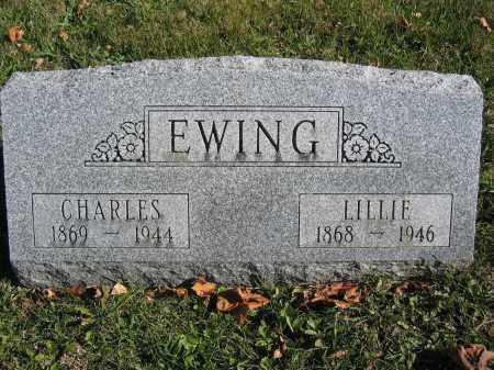 EWING, CHARLES - Champaign County, Ohio | CHARLES EWING - Ohio Gravestone Photos