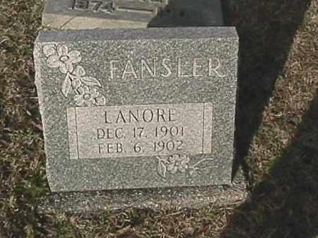 FANSLER, LANORE - Champaign County, Ohio | LANORE FANSLER - Ohio Gravestone Photos