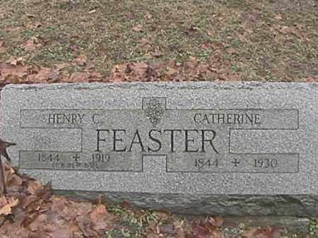 FEASTER, CATHERINE - Champaign County, Ohio | CATHERINE FEASTER - Ohio Gravestone Photos