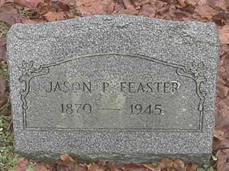 FEASTER, JASON P. - Champaign County, Ohio | JASON P. FEASTER - Ohio Gravestone Photos