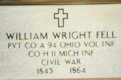 FELL, WILLIAM - Champaign County, Ohio | WILLIAM FELL - Ohio Gravestone Photos