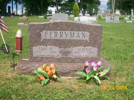FERRYMAN, EARL OTTO - Champaign County, Ohio | EARL OTTO FERRYMAN - Ohio Gravestone Photos