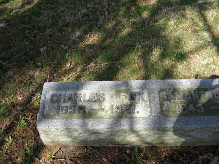 FOX, CHARLES WESLEY - Champaign County, Ohio | CHARLES WESLEY FOX - Ohio Gravestone Photos