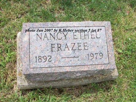 EVILSIZOR FRAZEE, NANCY ETHEL - Champaign County, Ohio   NANCY ETHEL EVILSIZOR FRAZEE - Ohio Gravestone Photos