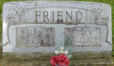 BASYE FRIEND, VIOLA MAY - Champaign County, Ohio   VIOLA MAY BASYE FRIEND - Ohio Gravestone Photos