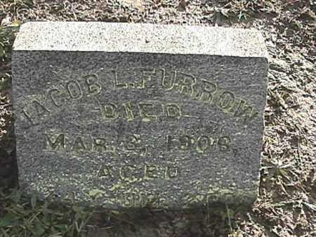 FURROW, JACOB LAWRENCE - Champaign County, Ohio | JACOB LAWRENCE FURROW - Ohio Gravestone Photos