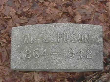 FUSON, WILLIAM L. - Champaign County, Ohio | WILLIAM L. FUSON - Ohio Gravestone Photos