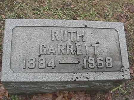 GARRETTE, RUTH - Champaign County, Ohio | RUTH GARRETTE - Ohio Gravestone Photos