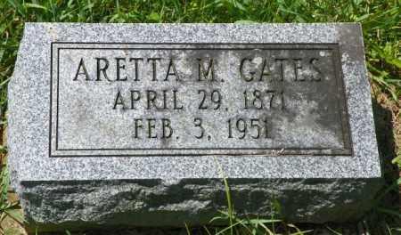 GATES, ARETTA M. - Champaign County, Ohio   ARETTA M. GATES - Ohio Gravestone Photos