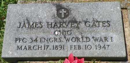 GATES, JAMES HARVEY - Champaign County, Ohio | JAMES HARVEY GATES - Ohio Gravestone Photos