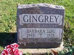 GINGREY, BARBARA LOU - Champaign County, Ohio | BARBARA LOU GINGREY - Ohio Gravestone Photos