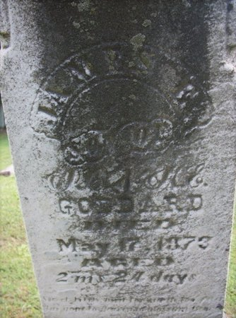 GODDARD, JAMES - Champaign County, Ohio | JAMES GODDARD - Ohio Gravestone Photos