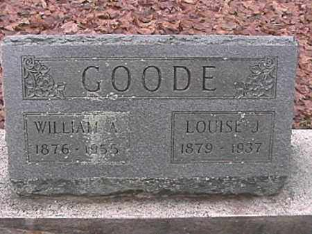 GOODE, WILLIAM A. - Champaign County, Ohio | WILLIAM A. GOODE - Ohio Gravestone Photos
