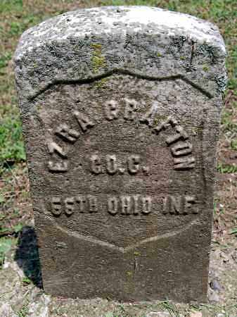 GRAFTON, EZRA - Champaign County, Ohio | EZRA GRAFTON - Ohio Gravestone Photos
