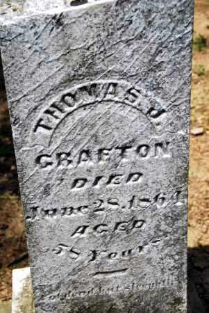 GRAFTON, THOMAS J. - Champaign County, Ohio | THOMAS J. GRAFTON - Ohio Gravestone Photos