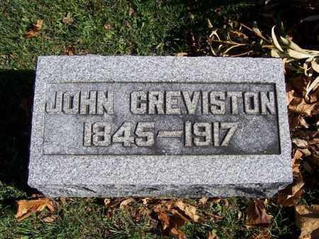 GREVISTON, JOHN - Champaign County, Ohio   JOHN GREVISTON - Ohio Gravestone Photos