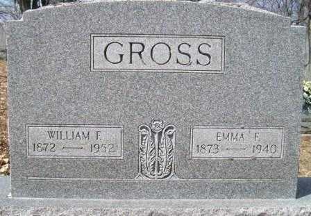 GROSS, EMMA F. - Champaign County, Ohio | EMMA F. GROSS - Ohio Gravestone Photos