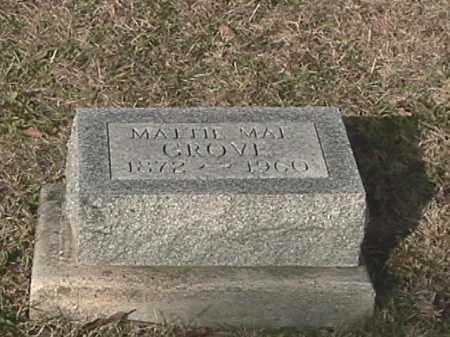 GROVE, MATTIE MAE - Champaign County, Ohio   MATTIE MAE GROVE - Ohio Gravestone Photos