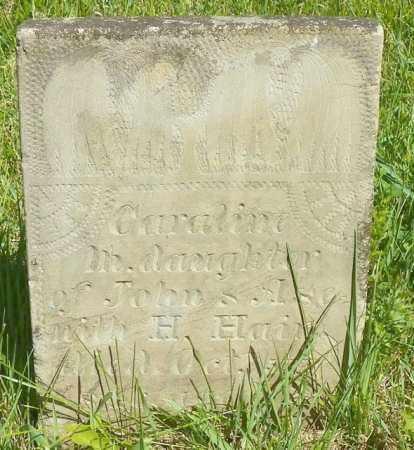 HAIR, CARALIN - Champaign County, Ohio | CARALIN HAIR - Ohio Gravestone Photos