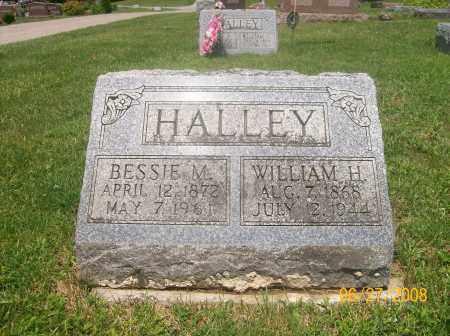 HALLEY, WILLIAM H - Champaign County, Ohio | WILLIAM H HALLEY - Ohio Gravestone Photos