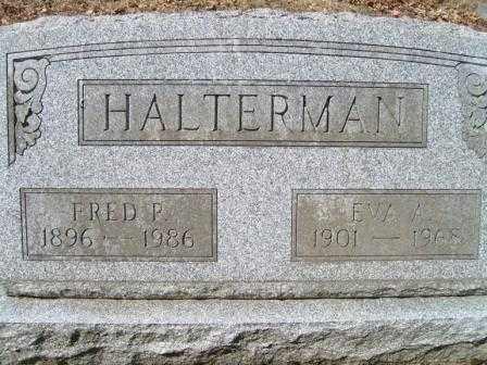HALTERMAN, EVA A. - Champaign County, Ohio | EVA A. HALTERMAN - Ohio Gravestone Photos