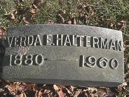 CLARK HALTERMAN, VERDA E. - Champaign County, Ohio | VERDA E. CLARK HALTERMAN - Ohio Gravestone Photos
