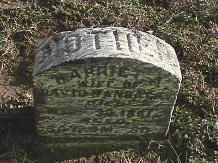 HANBACK, HARRIET A. - Champaign County, Ohio | HARRIET A. HANBACK - Ohio Gravestone Photos