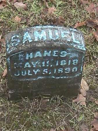 HANES, SAMUEL - Champaign County, Ohio | SAMUEL HANES - Ohio Gravestone Photos
