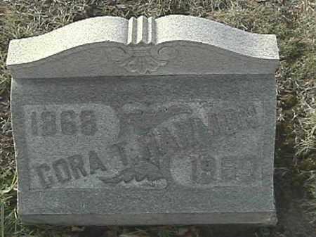 HARMON, CORA T - Champaign County, Ohio   CORA T HARMON - Ohio Gravestone Photos