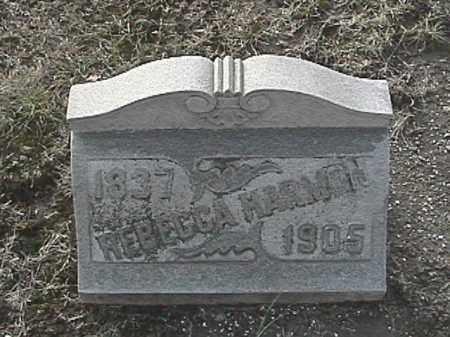 TERRELL HARMON, REBECCA - Champaign County, Ohio | REBECCA TERRELL HARMON - Ohio Gravestone Photos
