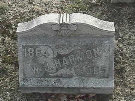 HARMON, WARREN J. - Champaign County, Ohio | WARREN J. HARMON - Ohio Gravestone Photos