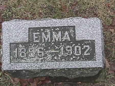 HARRIS, EMMA - Champaign County, Ohio | EMMA HARRIS - Ohio Gravestone Photos