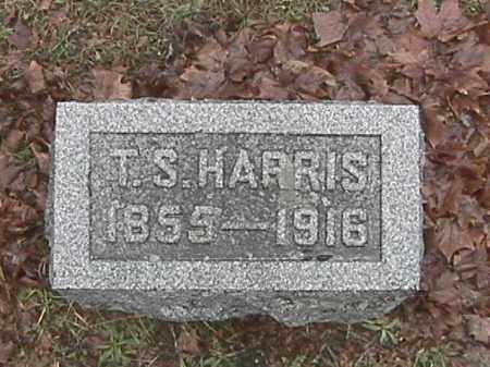 HARRIS, TIMOTHY SYLVESTER - Champaign County, Ohio   TIMOTHY SYLVESTER HARRIS - Ohio Gravestone Photos