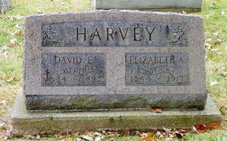 HARVEY, DAVIE E. - Champaign County, Ohio   DAVIE E. HARVEY - Ohio Gravestone Photos