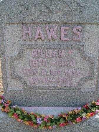 HAWES, WILLIAM T. - Champaign County, Ohio   WILLIAM T. HAWES - Ohio Gravestone Photos