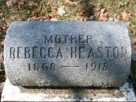 HEASTON, REBECCA - Champaign County, Ohio | REBECCA HEASTON - Ohio Gravestone Photos